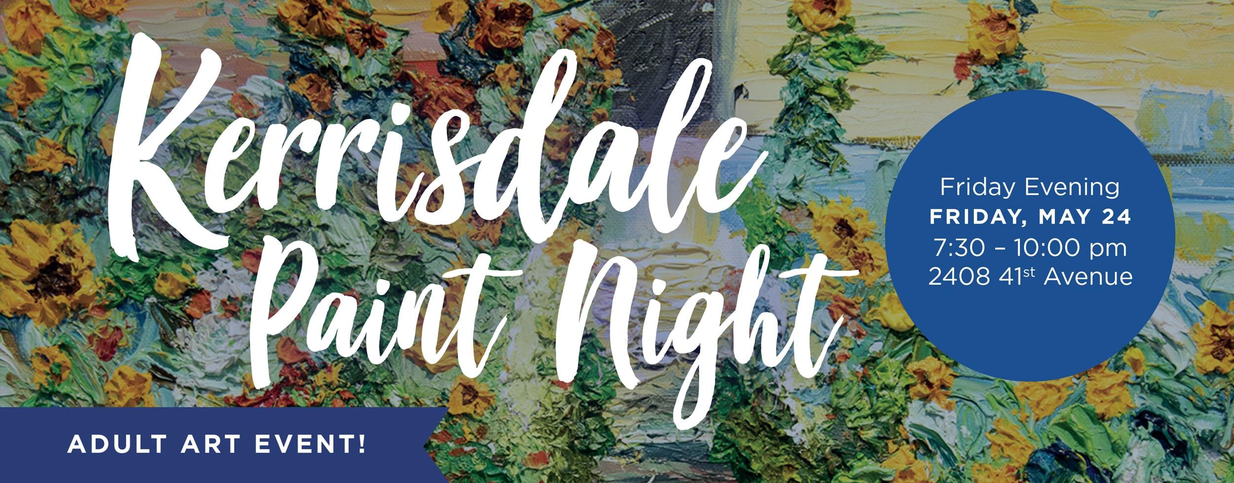 Kerrisdale Paint Night