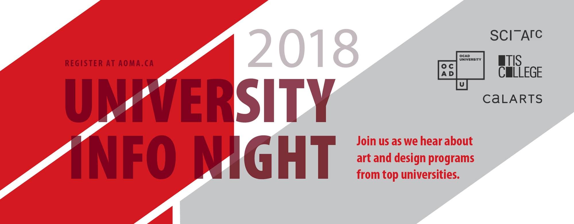 University Info Night