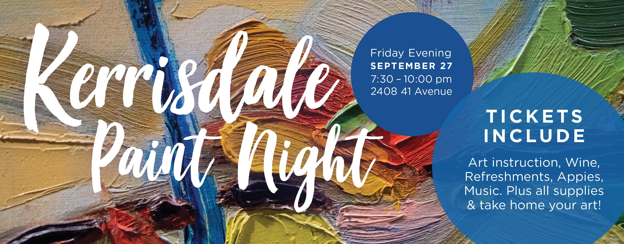 Kerrisdale Paint Night - September