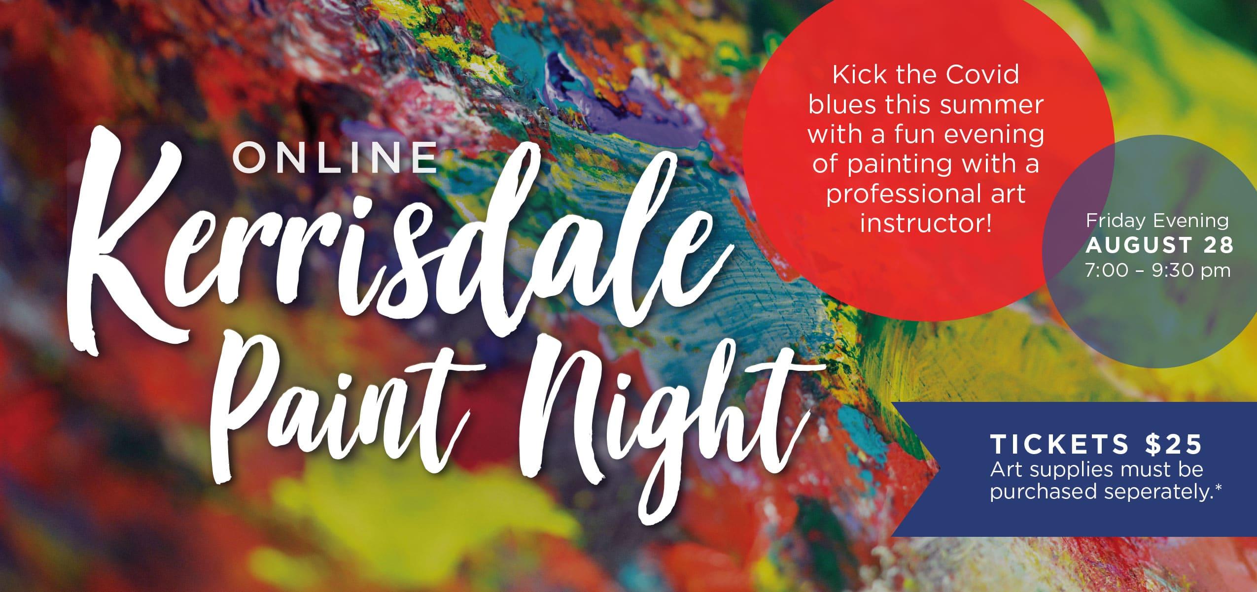 August Paint Night Slider