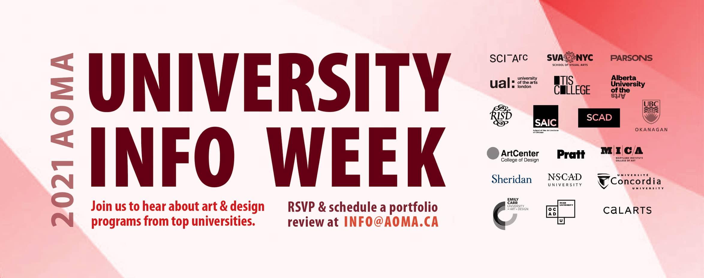 University Info Week 2021