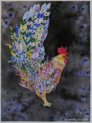 Allan Crawford  8 yrs (The Year Of Rooster)