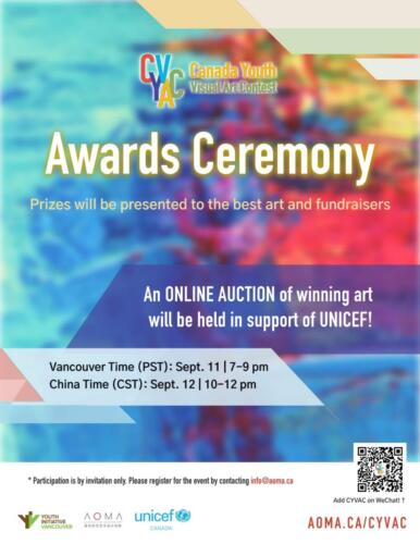 Canada Youth Visual Art Contest – Click for contest art