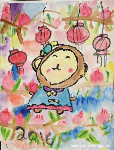 Jiarui Lu 5 yrs (The Peach Blossom Monkey) (1)